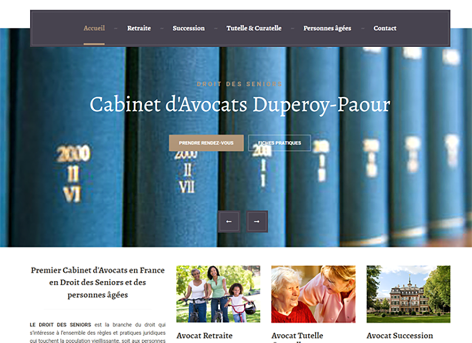 cabinet avocat senior