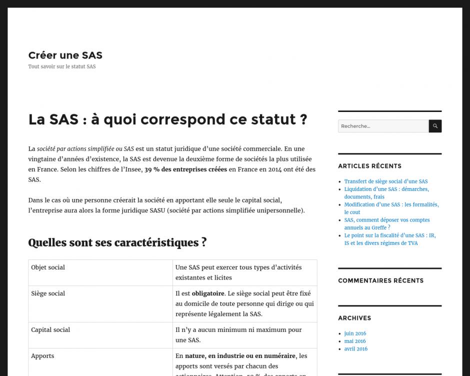 Crédit bancaire pour une SAS